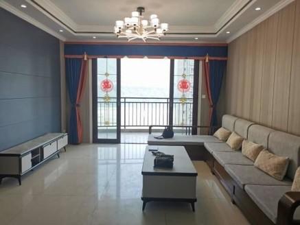 滨江路一线江景,正3室2卫,全新精装,拎包入住,两个阳台
