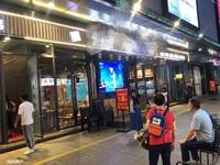 出售宝龙广场餐饮门面超大外摆带10年租约
