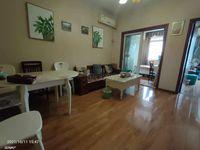 滨江路附近标准大两室,看江户型,精装,小区环境优美,出行方便,购物方便,